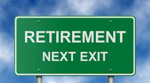Image of sign about retirement. Is your dental practice ready for this sort of transition?